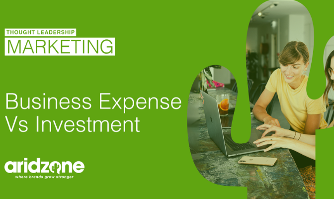 Marketing: Investment or Expense